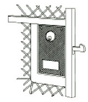 Woven Wire Gate Locks